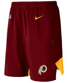 Men's Washington Redskins Player Practice Flex Shorts