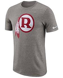 Men's Washington Redskins Marled Historic Logo T-Shirt