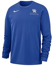 Men's Kentucky Wildcats Dry Top Crew Sweatshirt