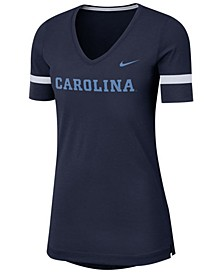 Women's North Carolina Tar Heels Fan V-Neck T-Shirt