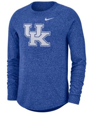 Nike Men's Kentucky Wildcats Marled Long Sleeve Raglan T-Shirt
