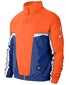 Men's New York Knicks Courtside Tracksuit Jacket