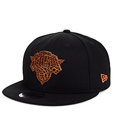New York Knicks Metal Crackle 9FIFTY Cap