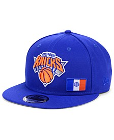 New York Knicks Flawless Flag 9FIFTY Cap
