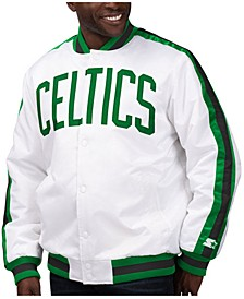Men's Boston Celtics The D-Line Starter Satin Jacket