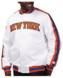 Men's New York Knicks The D-Line Starter Satin Jacket