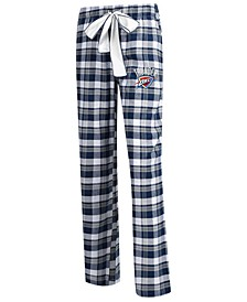 Women's Oklahoma City Thunder Piedmont Flannel Pajama Pants