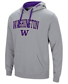 Men's Washington Huskies Arch Logo Hoodie