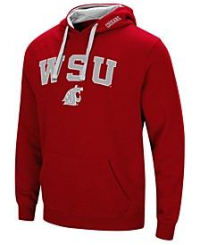 Men's Washington State Cougars Arch Logo Hoodie