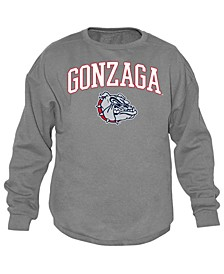 Men's Gonzaga Bulldogs Midsize Crew Neck Sweatshirt