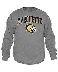 Men's Marquette Golden Eagles Midsize Crew Neck Sweatshirt