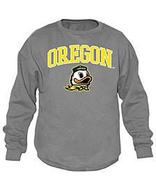 Men's Oregon Ducks Midsize Crew Neck Sweatshirt