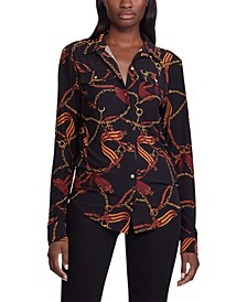 Equestrian Stretch Jersey Shirt