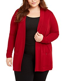 Plus Size Malibu Pocket Cardigan