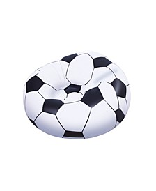 Up, In and Over Beanless Soccer Ball Chair