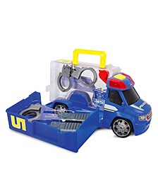 Push and Play SoS Police Patrol Car