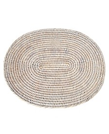 Rattan Oval Placemat