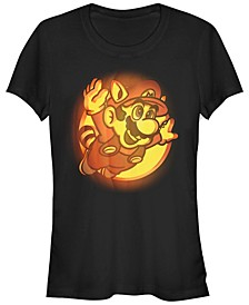 Nintendo Women's Super Mario Halloween Short Sleeve Tee Shirt