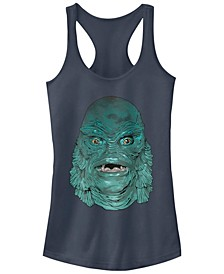 Universal Monsters Women's Creature from The Black Lagoon Big Face Racerback Tank Top