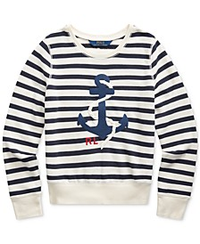 Big Girls Anchor Terry Sweatshirt
