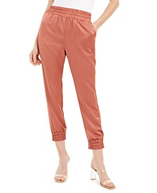 Satin Jogger Pants, Created For Macy's