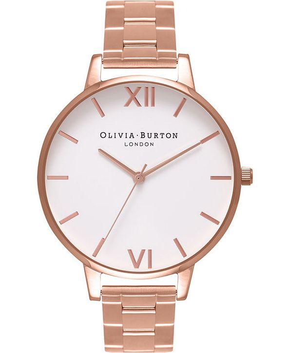 Olivia Burton Women's Rose Gold-Tone Bracelet Watch 38mm
