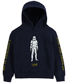 x Star Wars Little Boys Stormtrooper Fleece Hoodie