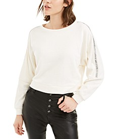 Shine Stripe Sweatshirt, Created For Macy's