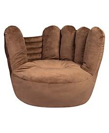 Baseball Glove Plush Children's Character Chair