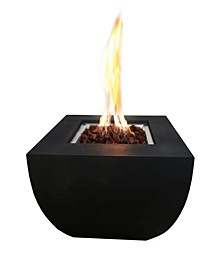 "34"" Aurora Outdoor Fire Pit Table Natural Gas"