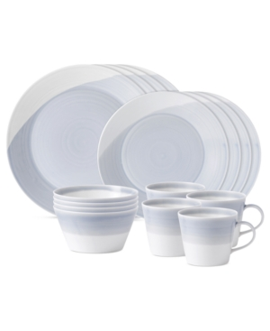 Royal Doulton Dinnerware, 1815 Blue 16-Piece Set, Service fo
