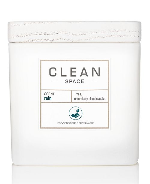 CLEAN Fragrance Rain Candle, 8-oz.