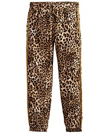 Big Girls Camo-Print Jogger Pants
