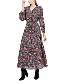 Petite Tie-Belted Maxi Dress