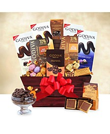 California Delicious Godiva Gift Basket