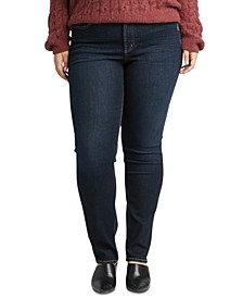 Trendy Plus Size Avery Straight-Leg Jeans