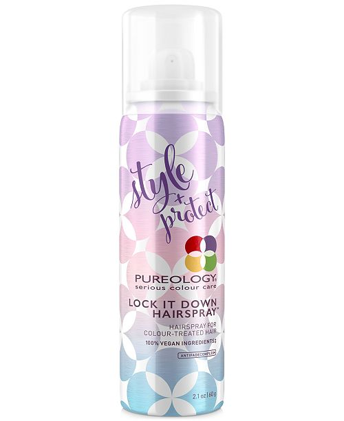 Pureology Lock It Down Hairspray, 2.1-oz., from PUREBEAUTY Salon & Spa