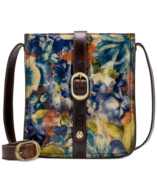 Patricia Nash Blue Clay Venezia Crossbody