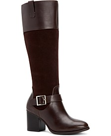 Jessaa Memory-Foam Boots, Created For Macy's