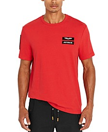 Men's Embroidered Patch T-Shirt