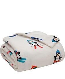 Winter Nights Plush Blanket, King