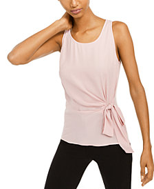 INC Petite Side-Tie Top, Created For Macy's