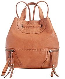 Dallas Leather Backpack