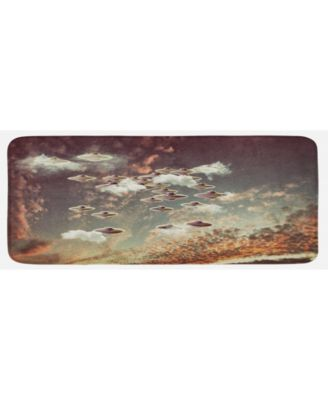 Outer Space Kitchen Mat