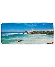 Lighthouse Kitchen Mat