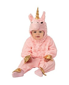 Toddler Girls and Boys Lama Corn Deluxe Costume