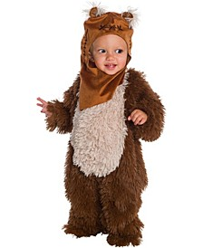 Toddler Girls and Boys Star Wars Classic Ewok Plush Deluxe Costume