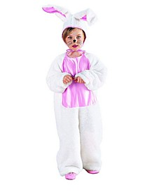 Big Girl's and Boy's Plush Bunny Costume