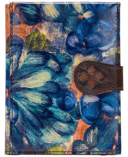 Patricia Nash Blue Clay Passport Holder