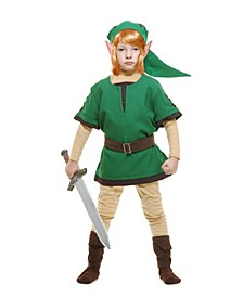 Big and Toddler Boys Elf Warrior Costume